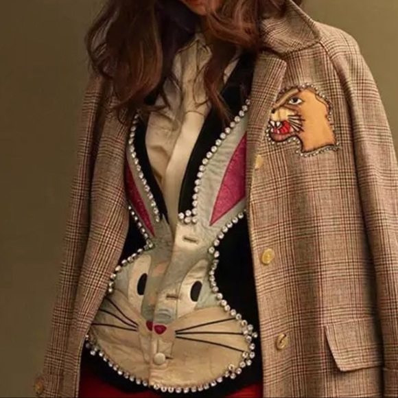 ad6a68b960be Women s BUGS BUNNY crystal embellished vest